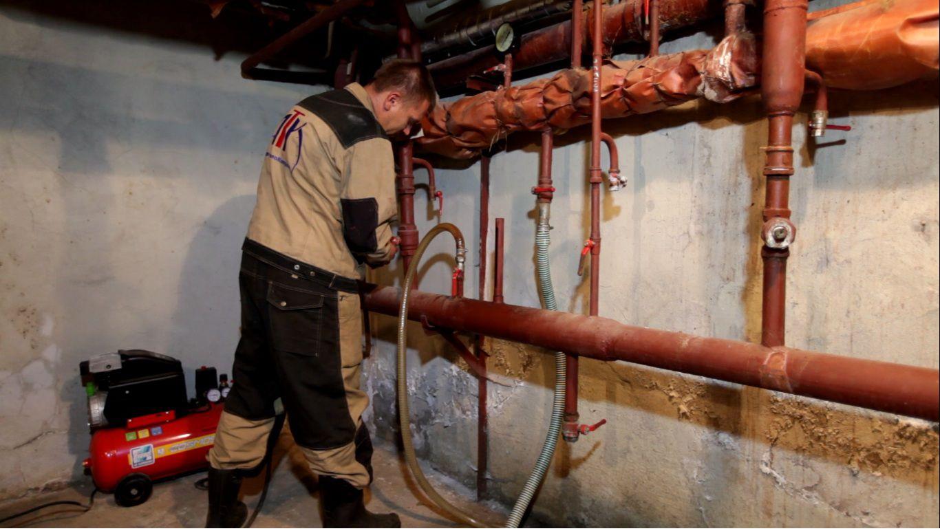 Как прочистить радиатор отопления своими руками 65
